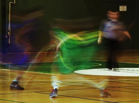 Hamburg - Basketbal players on the move