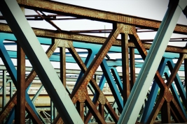 Hamburg Hafen -bridges pattern