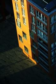 Hamburg Sankt Pauli - Building in the sun