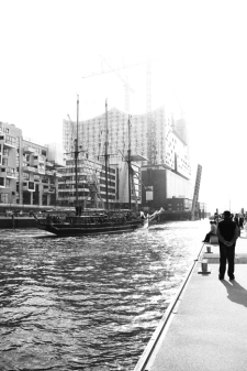 Hamburg - Hafencity - Elbphilarmonie