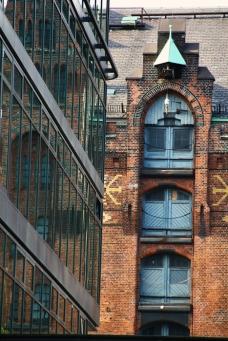 Hamburg Hafencity - old and new