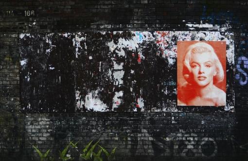 Hamburg Sternschanze - Marilyn on Sternbrücke