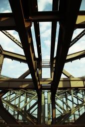 Hamburg bridge City Center - Freihafenelbbrücke
