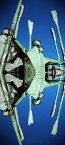 """Hamburg Altoner Balkon Parc - Mirror of Sculpture FIscher"""""""