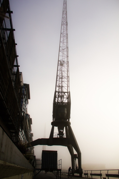Hamburg Altona Hafen - Crane