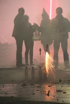 Hamburg - New Year fireworks