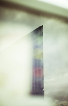 Hamburg Hafencity - Reflection of buiding tip