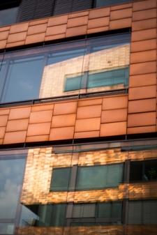 Hamburg Altona - Reflection of twin buildings