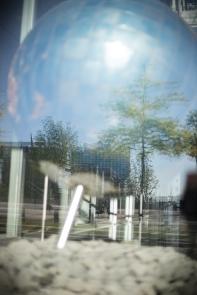 Hamburg Hafencity - Reflection in shpere