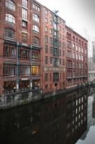 Hamburg city center - old building
