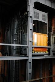 Hamburg City center - Alter Elbtunnel lift