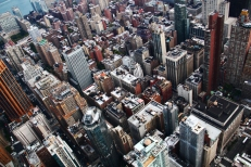 NYC from sky