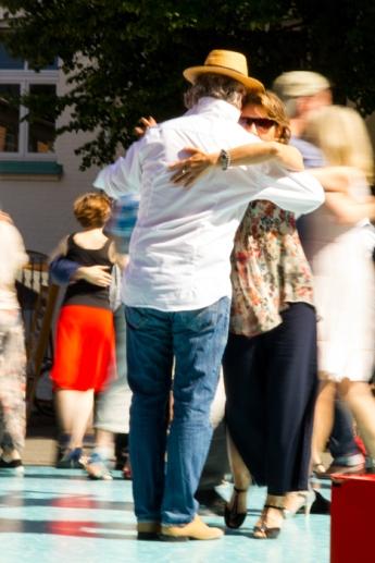 Hamburg Eimsbüttel - Tango dancers
