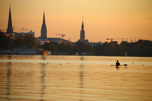 Hamburg Alster - Eilbek - Indian summer