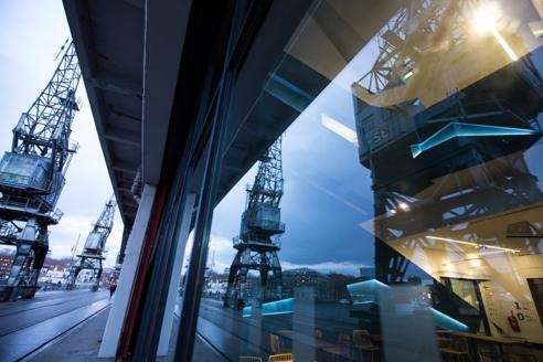 Cranes in Bristol