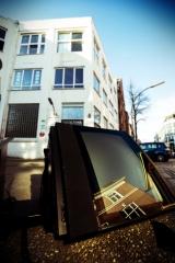 Hamburg Altona reflection in TV