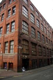Manchester brick building
