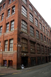 Manchester brick building