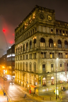 Manchester by night