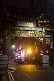 Manchester china town gate